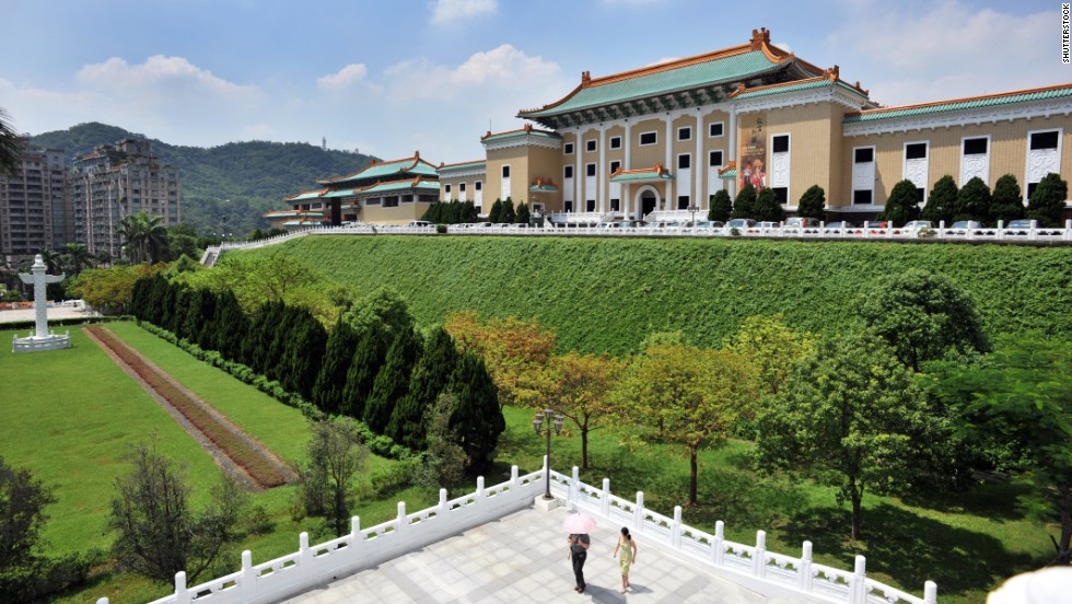 The National Palace Museum in Taiwan had nearly 5.3 million visitors in 2015.