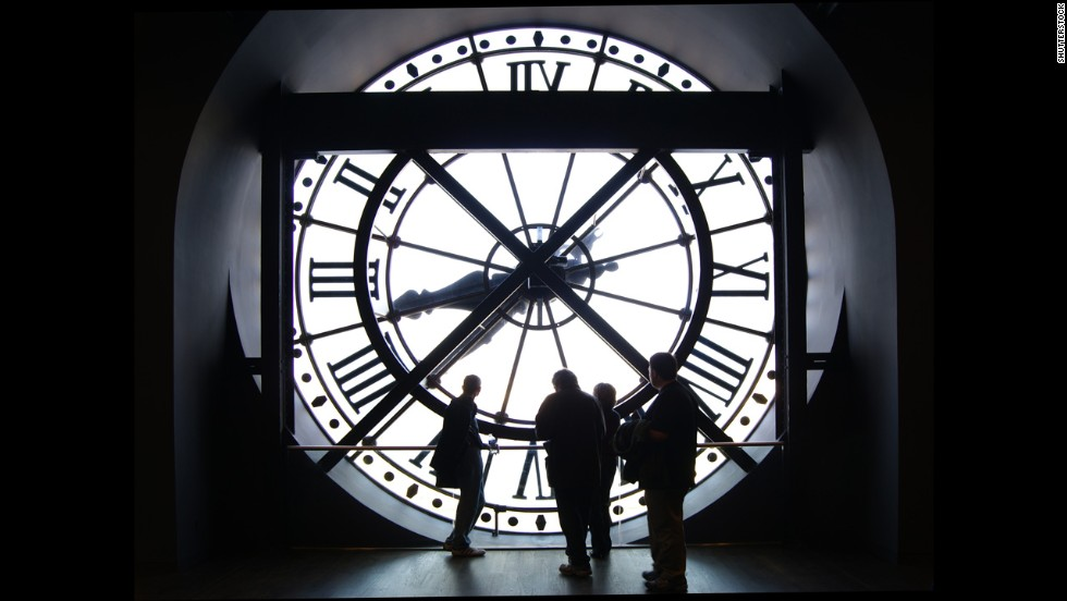 The Musee d'Orsay welcomed more than 3.4 million people in 2015.