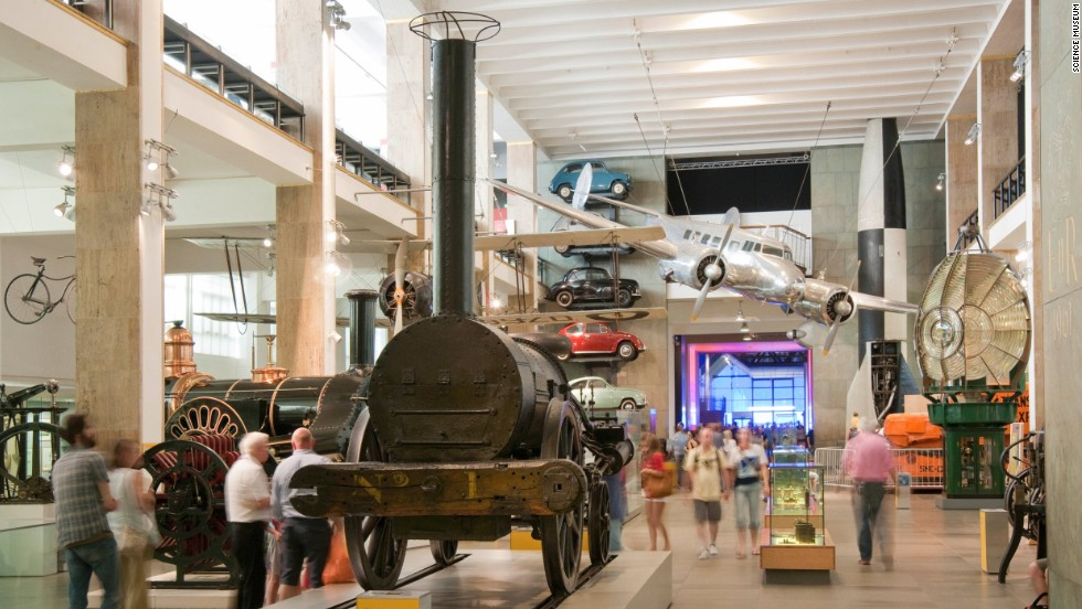 The Science Museum in South Kensington, London, hosted nearly 3.4 million visitors in 2015.