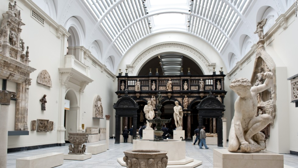 Leading the world's museums in decorative arts and design, the V&A in London attracted just under 3.3 million visitors in 2013.