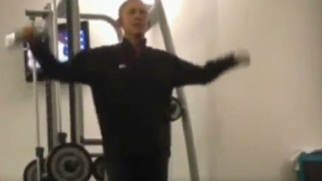 tsr intv kosinkski obama workout video _00005421.jpg