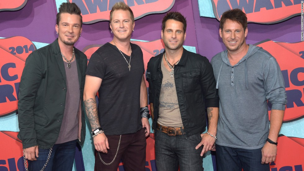 From left, Josh McSwain, Scott Thomas, Barry Knox and Matt Thomas of Parmalee