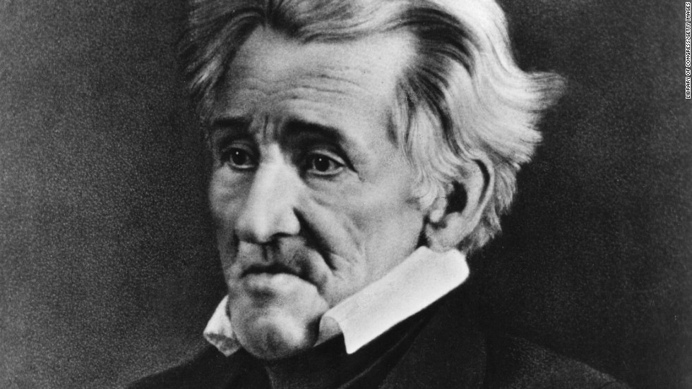"""Andrew Jackson was all of 13 years old when he joined the Patriots in the Revolutionary War. By 1781, he was in British custody -- during which he was slashed by an upset British officer and contracted smallpox, a disease that claimed the life of his brother and fellow captive, Robert. Their mother arranged for their release as part of a prisoner exchange. He would go on to become """"Old Hickory,"""" establishing himself as a soldier, a politician and the tough, rugged representation of the American frontier. Jackson's place in U.S. history was cemented in 1828, with his election as the nation's seventh president."""
