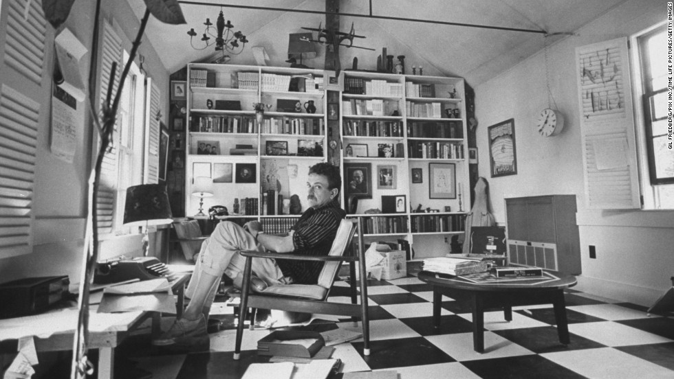 """Before Kurt Vonnegut wrote books that became must-reads in American classrooms, he was a soldier. But his time in combat came to an abrupt halt in 1944's Battle of the Bulge, when Nazi forces captured him. Vonnegut was a prisoner in Dresden during the Allies' massive, deadly firebombing of that German city, an episode he later recounted in """"Slaughterhouse-Five."""" That book was one of several --- along with """"Cat's Cradle"""" and """"God Bless You, Mr. Rosewater"""" --- that came to define his legacy. In the 1980s, Vonnegut experienced a resurgence, thanks to books such as """"Deadeye Dick"""" and """"Bluebeard,"""" and he became an outspoken peace and anti-nuclear activist."""