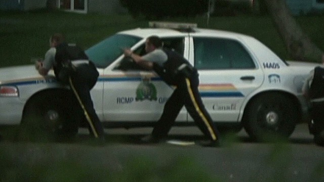 3 cops dead in Canada shooting rampage