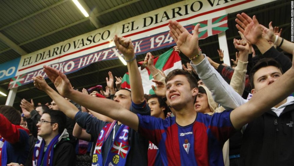 "Aranzabal says Eibar's success has been a fillip for the entire town. ""Eibar has always been a major industrial force but, since 1980 because of the Spanish recession, it has been through difficult times. We have lost inhabitants, we lost industry and now with this achievement will be a major economic and social boost."""