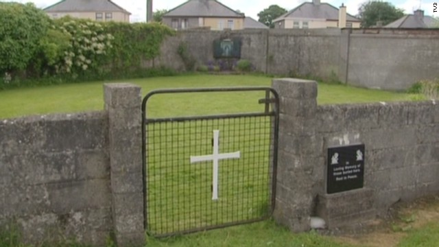 Mass grave of children at unwed mothers home
