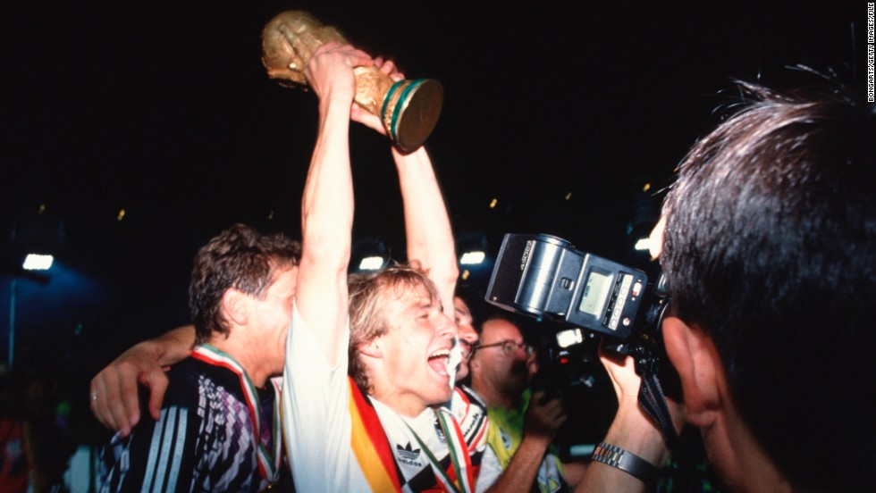 Klinsmann knows what it takes to win World Cup, having lifted the famous trophy as a part of West Germany's victorious Italia '90 team.