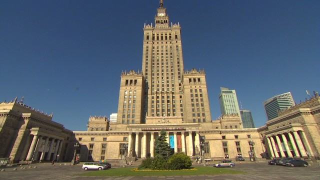 Poland's communist architecture