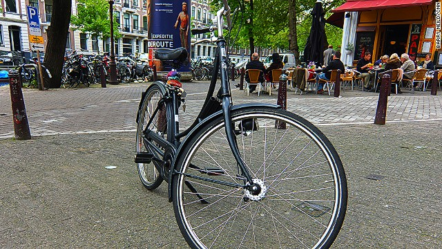 A typical Dutch bicycle