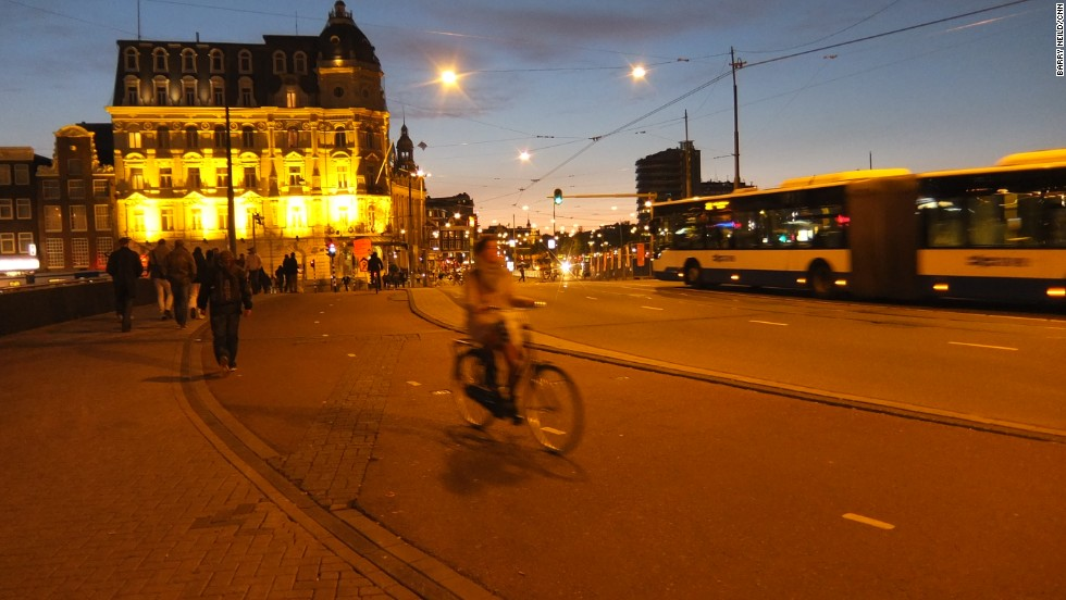Amsterdam's cycling culture and laid back atmosphere have helped it to the number 11 spot. More than 400 cities were surveyed by Mercer.