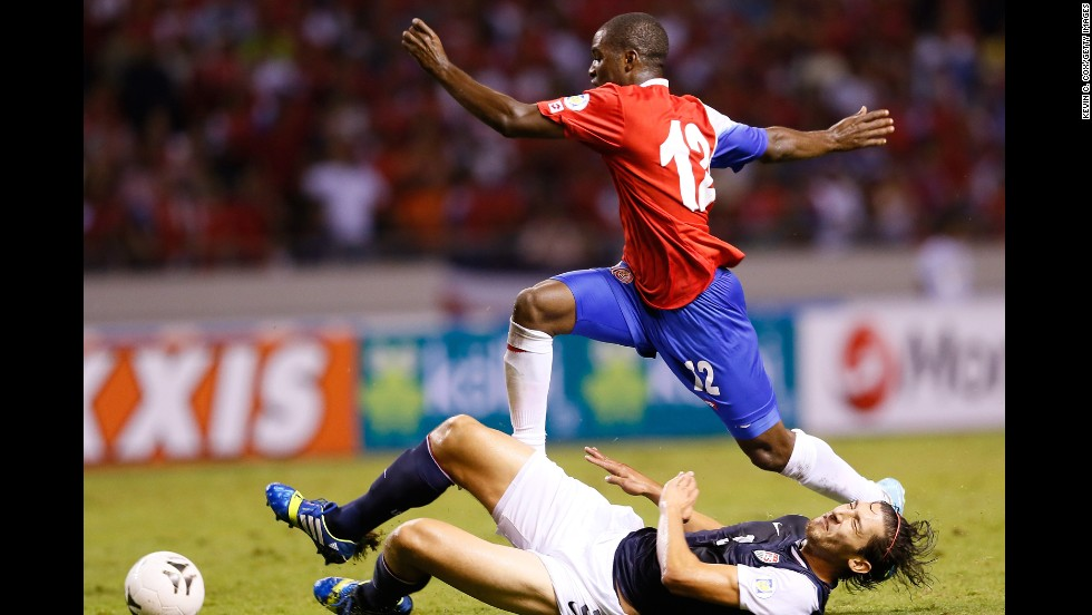 World Cup kickoff is upon us; here are five things to get ... Joel Campbell Dive