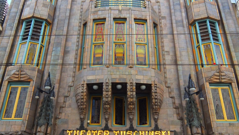 A Jewish immigrant originally from Poland, Tuschinski was killed by the Nazis in World War II and his cinema renamed the Tivoli. After the war, it reverted to its original name and his grand vision lived on.