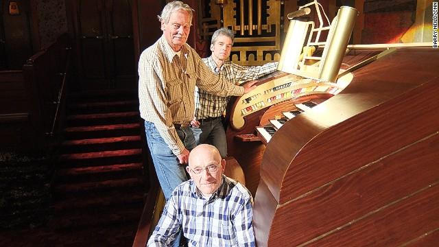 Music men: Schipper, Kroon and Cuiper.
