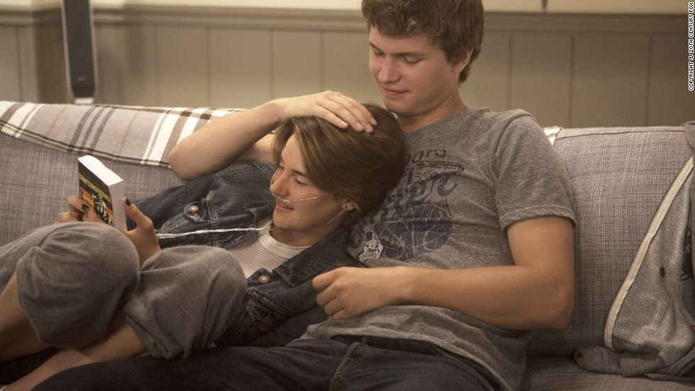 "The hotly anticipated film version of John Green's ""The Fault in Our Stars,"" starring Shailene Woodley and Ansel Elgort, reached theaters in summer 2014 and opened at No. 1."