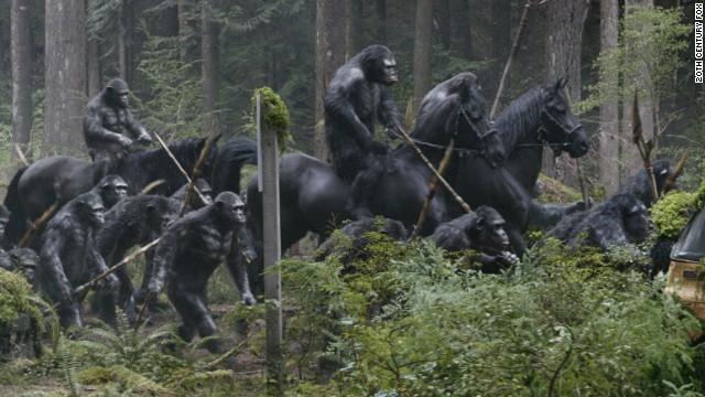 """Dawn of the Planet of the Apes"" is directed by Matt Reeves."