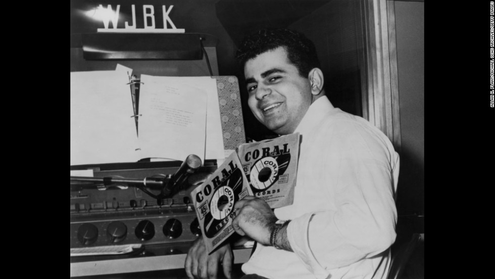 Kasem, the legendary DJ, host and voice-over talent, was born in Detroit and got his start at Michigan radio stations. Here he is in the DJ booth at Detroit's WJBK in 1957.