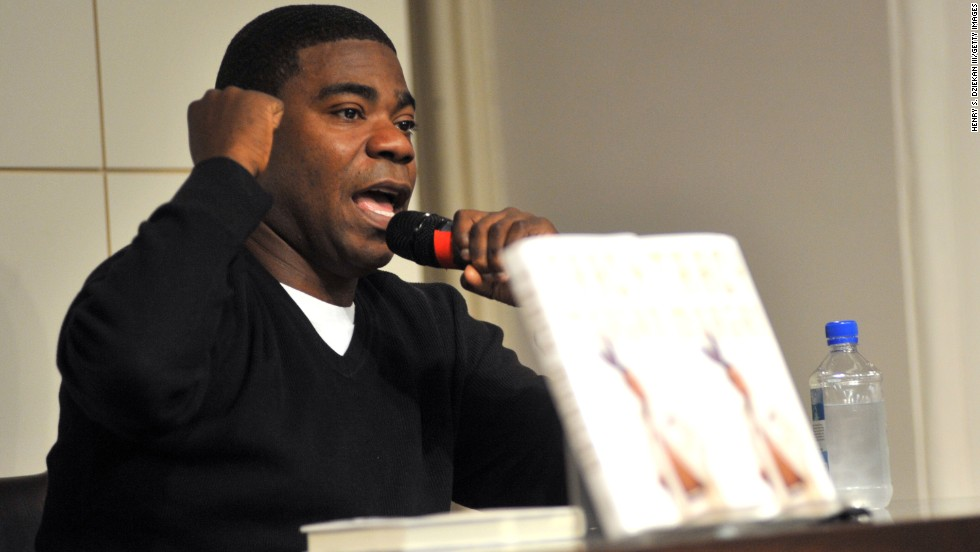 "Tracy Morgan promotes his book ""I Am The New Black"" at Barnes & Noble Union Square on October 22, 2009, in New York."