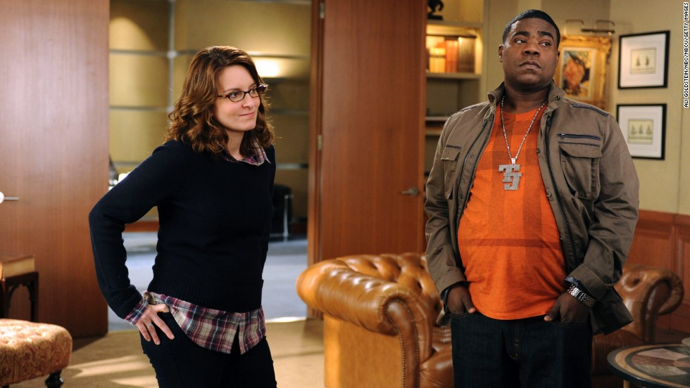 "Morgan and Tina Fey worked together after SNL on the show ""30 Rock."" Morgan played Tracy Jordan, a character that was loosely based on himself."