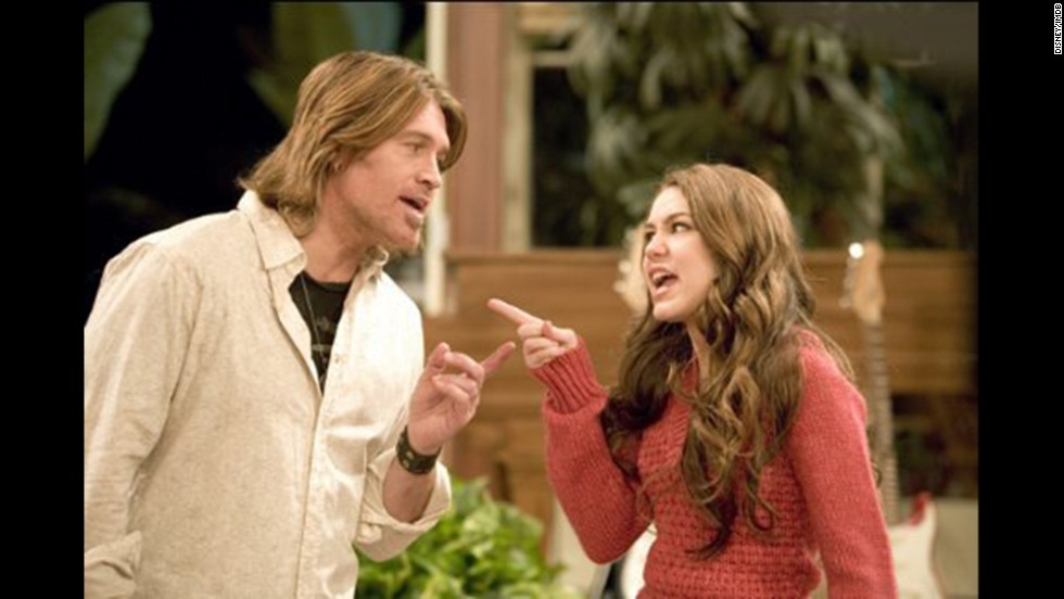 "<strong>""Hannah Montana"": </strong>In more innocent, pre-twerking times, Miley Cyrus starred in the popular Disney show with real dad Billy Ray Cyrus as her on-screen dad. The main character's deceased mom (played by Brooke Shields) appeared only in flashback scenes."