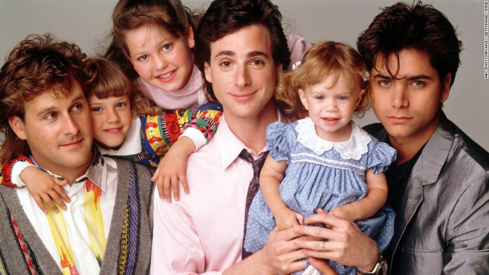 "<strong>""Full House"":</strong> Living up to its name, viewers of the ABC series watched widower Danny Tanner (played by Bob Saget) raise his three daughters with the in-house help of childhood friend Joey Gladstone (Dave Coulier) and brother-in-law Jesse Katsopolis (John Stamos)."