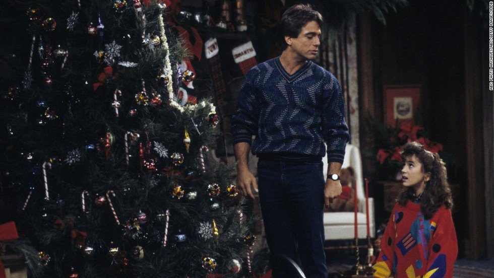 "<strong>""Who's the Boss?""</strong>: Widower Tony Micelli (played by Tony Danza) takes a job as a live-in housekeeper for a divorced female advertising executive in the role-reversal series that aired from 1984 to 1992. His daughter, Samantha (Alyssa Milano), also moves into the house."
