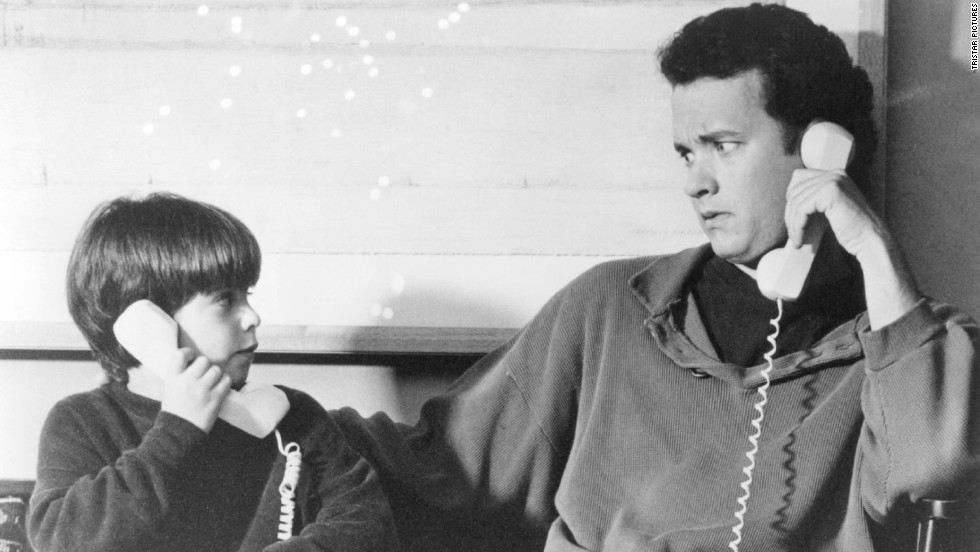 """<strong>""""Sleepless in Seattle"""":</strong> This classic rom-com by Nora Ephron stars Tom Hanks as a depressed widower who lost his wife to cancer. His young son, Jonah, takes it upon himself to call into a radio show to help the grieving father -- who becomes known as """"Sleepless in Seattle"""" -- find a new mate."""