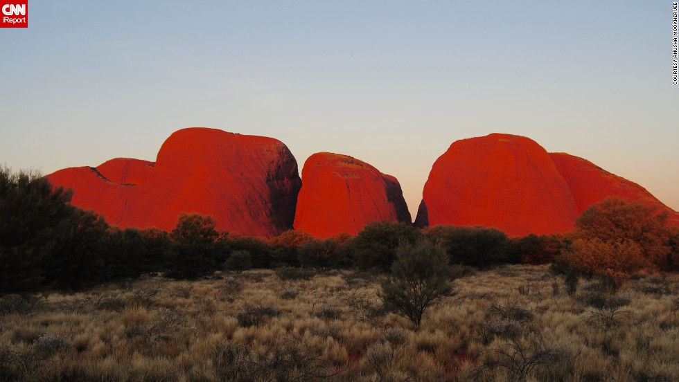 After the monotony of business meetings, travelers in Australia can take time off to see Uluru-Kata Tjuta National Park, home to one of the largest sandstone monoliths in the world.