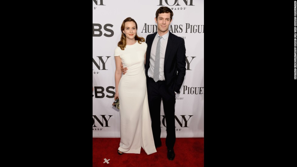 Leighton Meester and Adam Brody