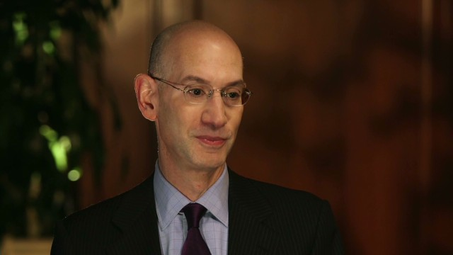 NBA commissioner talks candidly to CNN
