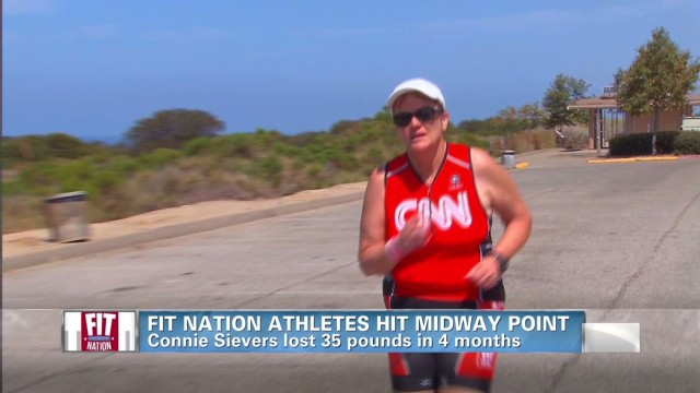 Fit Nation triathlete down 35 pounds