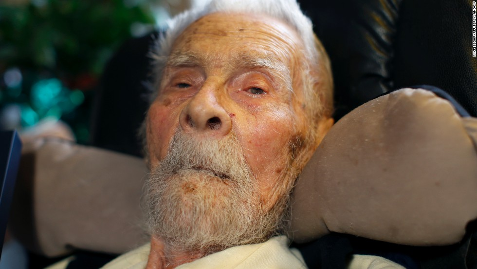 "<a href=""http://www.cnn.com/2014/06/09/us/oldest-man-dies/index.html"">Alexander Imich</a>, a New Yorker who had been certified as the world's oldest living man, died Sunday, June 8, at the age of 111. Imich was born in Poland on February 4, 1903, but fled when the Nazis took over in 1939. Despite a doctorate in zoology, Imich's passion was investigating paranormal activity. He detailed his encounters with the supernatural in ""Incredible Tales of the Paranormal,"" a journal that was published when he was 92."