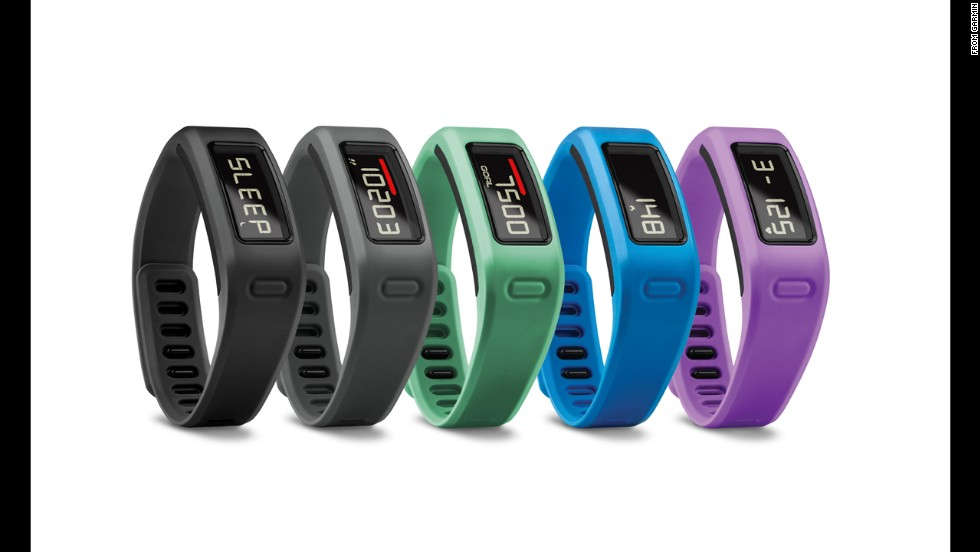 "With all the fitness bands on the market, from FitBit to Nike Fuel, Garmin's entry sometimes gets lost in the shuffle.<a href=""http://sites.garmin.com/vivo/"" target=""_blank""> The VivoFit </a>($129) is waterproof and has a helpful (or really annoying) ""time to move"" bar that flashes when you've been still for too long."