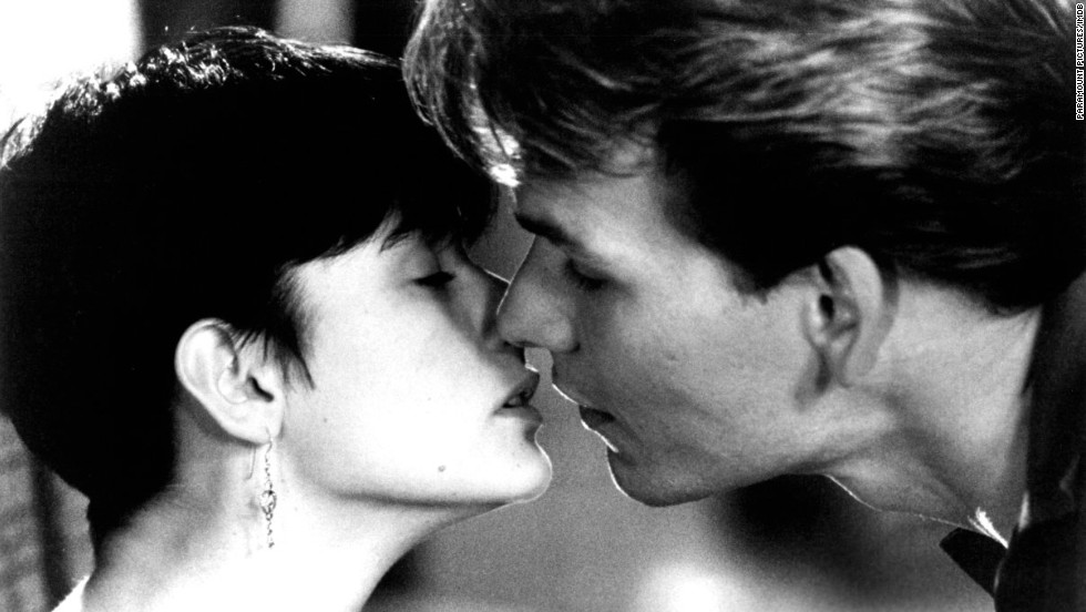 "<strong>""Ghost"" (1990)</strong>: Loving someone so much that you stick around even after you're killed and become a ghost? C'mon. Kleenex probably should've sponsored the movie. It was cheesy, but Demi Moore and Patrick Swayze sold it."