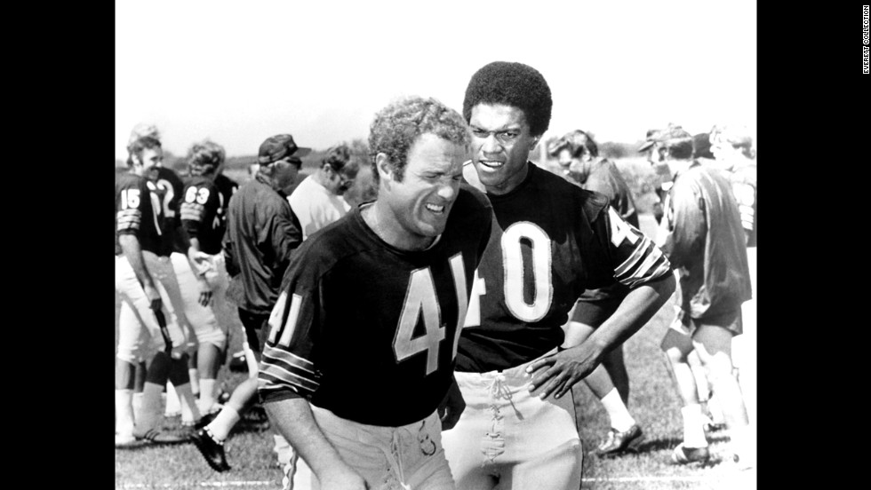 "<strong>""Brian's Song"" (1971): </strong>This timeless football TV movie is also known as the easiest way to make your dad/brother/boyfriend cry. Based on the true story of Gale Sayers and Brian Piccolo, played by Billy Dee Williams and James Caan, respectively, ""Brian's Song"" deftly tells about an interracial friendship that highlighted a changing NFL."