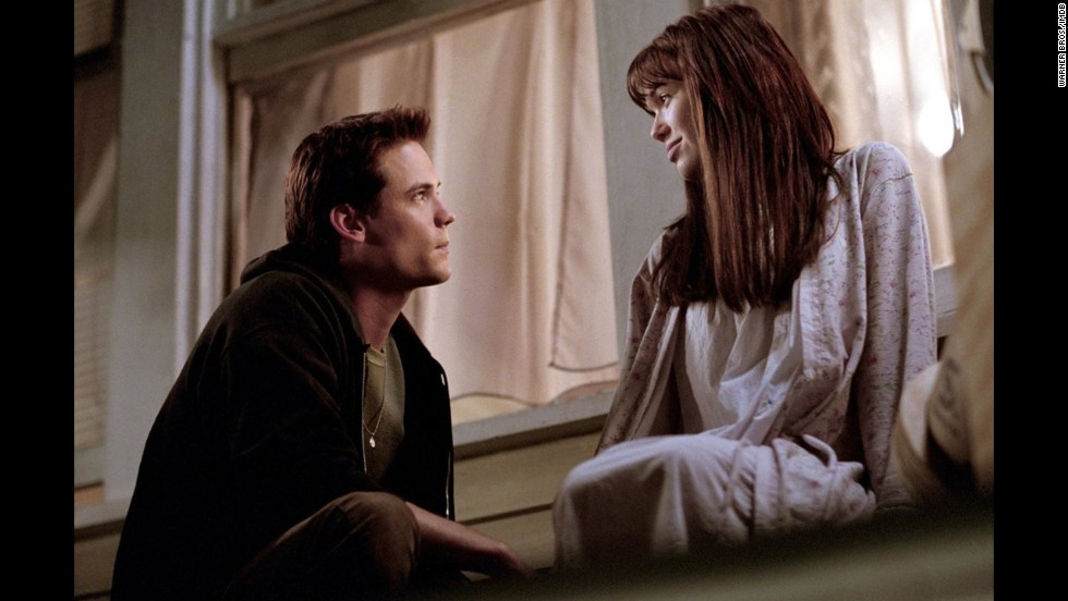 "<strong>""A Walk to Remember"" (2002)</strong>: Some moviegoers are comparing ""The Fault In Our Stars"" to this 2002 movie starring Mandy Moore and Shane West, based on Nicholas Sparks' novel of the same name. Moore and West play a pair of mismatched teen lovebirds whose romance gets interrupted by a devastating secret."