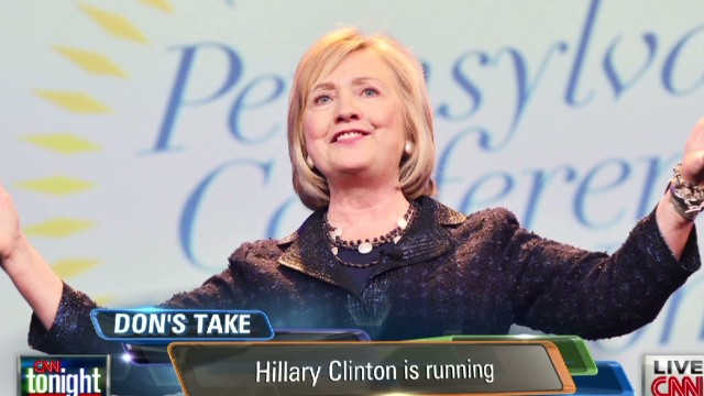 Lemon: 'Hillary Clinton is running'