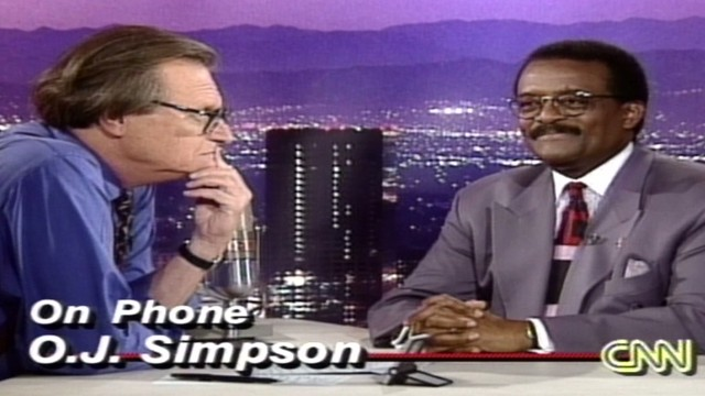 1995: Simpson calls CNN after verdict
