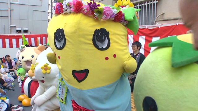 Mascot mania means big bucks in Japan
