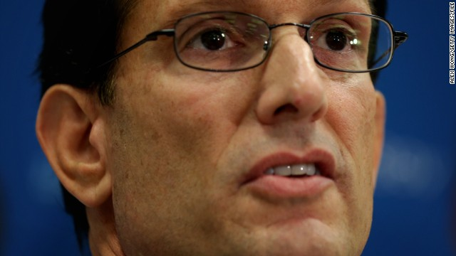 Source: Eric Cantor to step down July 31