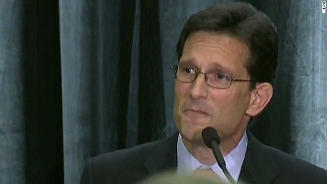 Eric Cantor: It's disappointing