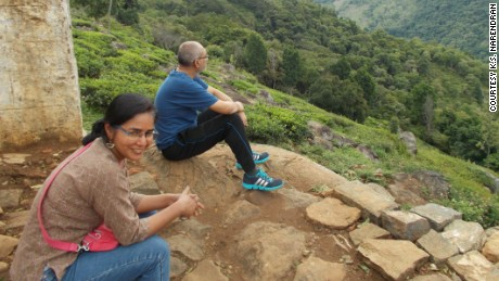 Narendran and his wife planned to build a dream house high up in India's Nilgiri Hills.