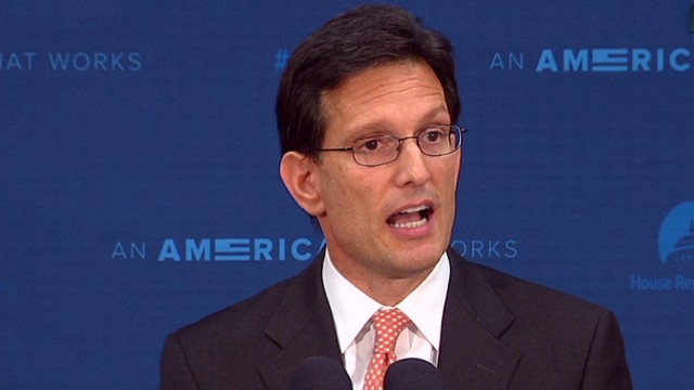Cantor: I'm honored to have served
