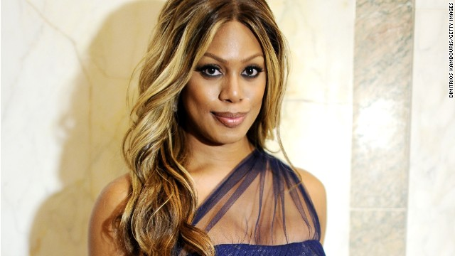 """Orange is the New Black"" star Laverne Cox goes with purple on June 10."