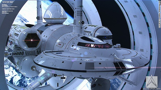 What an Enterprise! NASA physicist, artist unveil warp-speed craft design
