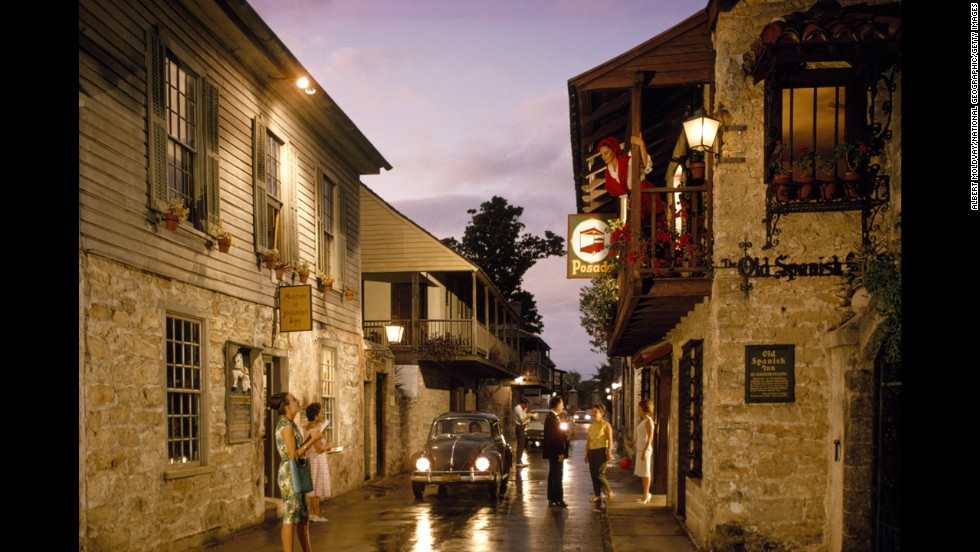 Many of the streets date back much farther. St. Augustine is the oldest, continuously populated European-settled city in the continental United States.