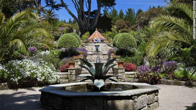 The small island of Tresco is home to one of the finest gardens in the United Kingdom.