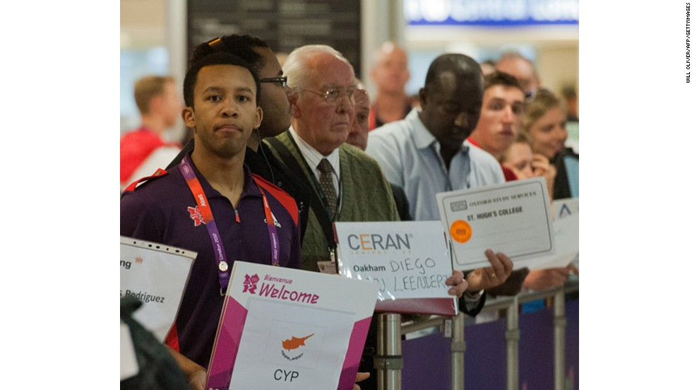 """""""Have you got a limo? Yes? In that case, I am Mr. Cyp."""" Keep those airport driver signs coming."""