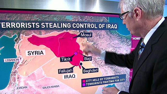 Militants seizing control in Iraq