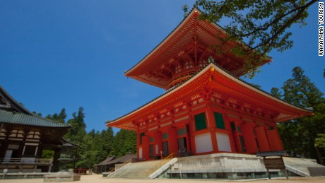 Danjo Garan, one of the two most sacred sites in Koyasan.